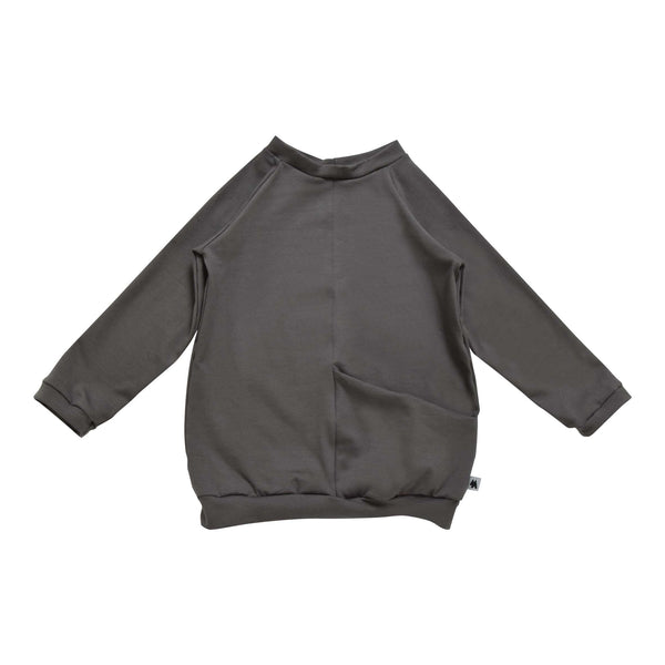 Pocket Sweatshirt - Dark Grey