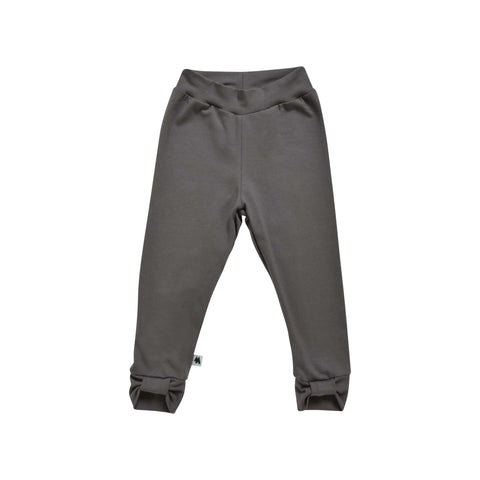 Bow Leggings - Dark Grey