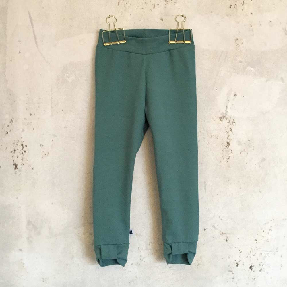 Bow leggings - petrol