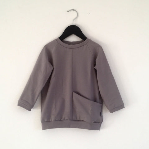 Pocket Sweatshirt - Light Grey