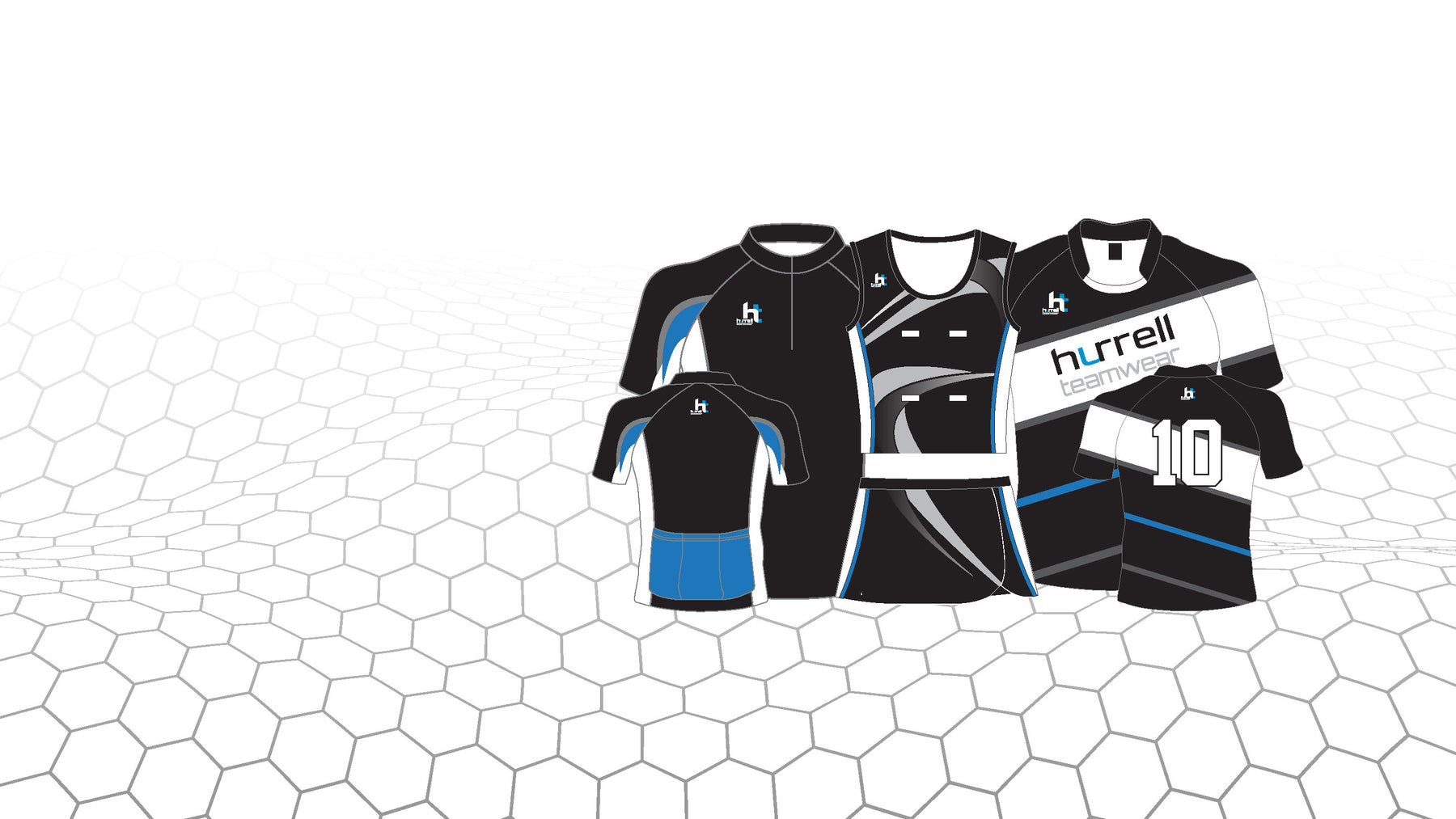 Hurrell Teamwear Custom Sublimated Teamwear, Rugby, Netball, Cycling