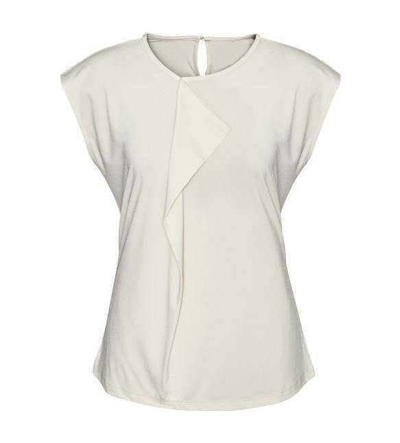 WOMEN'S MIA PLEAT KNIT TOP (K624LS)