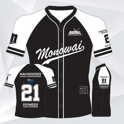 Monowai Softball - Hurrell | Uniform Solutions & Merchandise