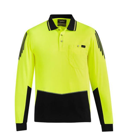 HI-VIS FLUX L/S POLO (ZH310) - Hurrell | Uniform Solutions & Merchandise
