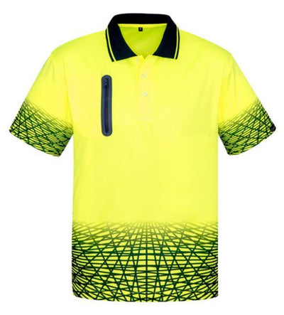 Tracks Hi-Vis Polo (ZH300) - Hurrell | Uniform Solutions & Merchandise