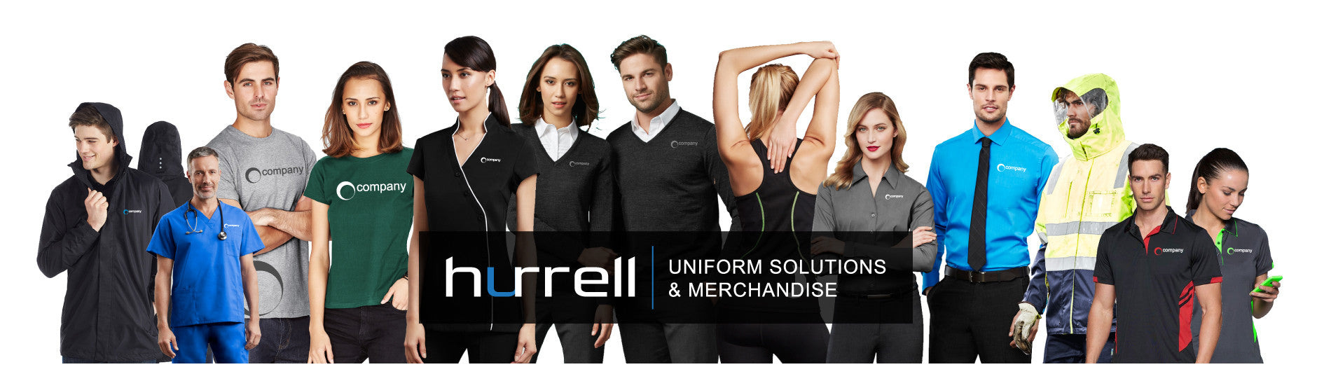 Hurrell Uniform Solutions, Stock Service Uniform, Coporate, Teamwear, Hospitality