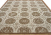 Contemporary Rambo Brown Color Hand Tufted Persian Style Woolen Area Rug