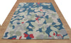 Mia Abstract Multi Color Hand Tufted Modern Style Woolen Area Rug