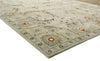 Evan A Green Color Hand Tufted Persian Style Woolen Area Rug