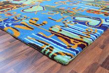 Load image into Gallery viewer, Love Graffiti 5 x 8 Handmade Floral Persian Style Wool Area Rug - TulipFiesta - 4