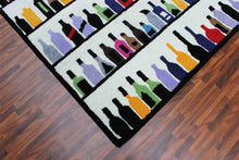 Load image into Gallery viewer, Multi Bottles 5 x 8 Handmade Floral Persian Style Wool Area Rug - TulipFiesta - 2