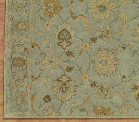 Madison Blue Handmade Floral Persian Style Woolen Area Rug