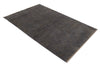 Abstrsct Grey and Brown Color Hand Knotted Modern Style Woolen Area Rug