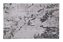Load image into Gallery viewer, Abstract Modern Grey / Multi Color Indo-Tibetian Handmade Wool and Viscose Area Rug Carpet