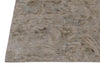Abstract Beige Color Hand Knotted Tibetian Modern Style Woolen Area Rug