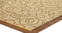 Load image into Gallery viewer, Contemprory Brown Handmade Modern Style Woolen Area Rug Carpet - TulipFiesta - 3