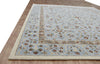 Laslie A Light Blue Color Hand Tufted Persian Style Woolen Area Rug