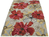 Sand and Summit Multi Colored Floral Persian Style Wool Area Rug - TulipFiesta - 2