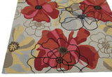 Sand and Summit Multi Colored Floral Persian Style Wool Area Rug - TulipFiesta - 3