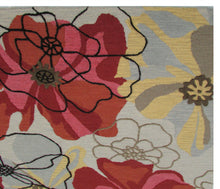 Load image into Gallery viewer, Sand and Summit Multi Colored Floral Persian Style Wool Area Rug - TulipFiesta - 1