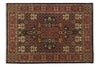 Amarmahal Brown & Rust Color Traditional Style Hand Knotted Woolen Area Rug