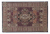 Amarmahal White Color Traditional Hand Knotted Woolen Area Rug