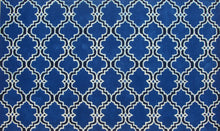 Load image into Gallery viewer, Moroccan Scroll Tile Indigo Handmade Persian Style Wool Area Rug - TulipFiesta - 3