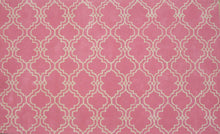 Load image into Gallery viewer, Moroccan Scroll Tile Pink Handmade Persian Style Wool Area Rug - TulipFiesta - 2