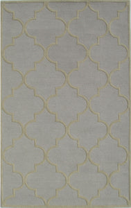 Blair Scroll Stone Wheat Handmade Persian Style Woolen Area Rug Carpet - TulipFiesta - 2
