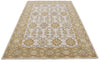 Tabitha Beige Color Hand Tufted Persian Style Woolen Area Rug