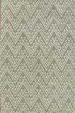 Chevron Hook Gray Handmade Persian Wool Area Rug - TulipFiesta - 4
