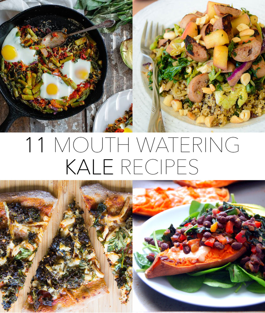 11 different KALE recipes