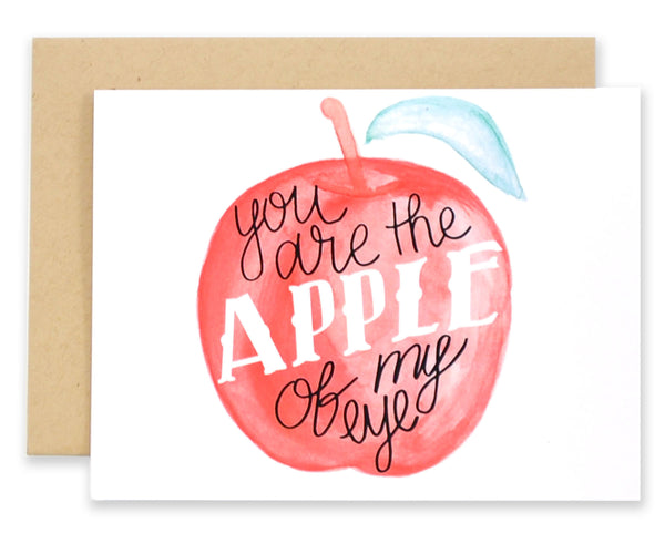 Apple of My Eye - EAT Healthy Designs  - 1