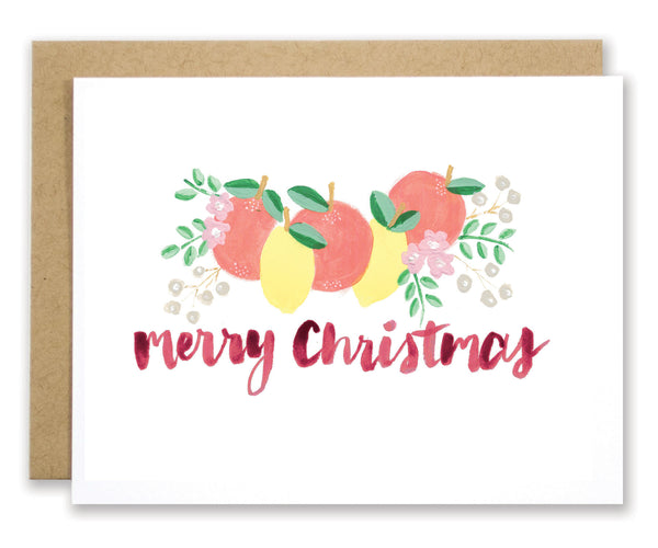Merry Christmas Card - EAT Healthy Designs  - 1