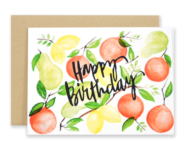 Citrus Happy Birthday - EAT Healthy Designs  - 1