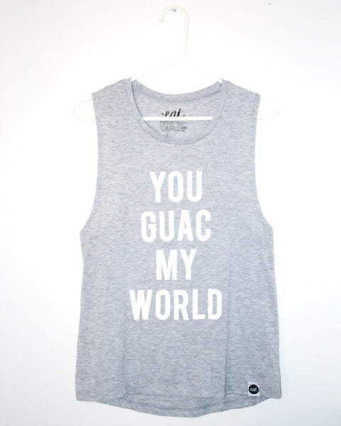You Guac My World Tank Top - EAT Healthy Designs  - 2