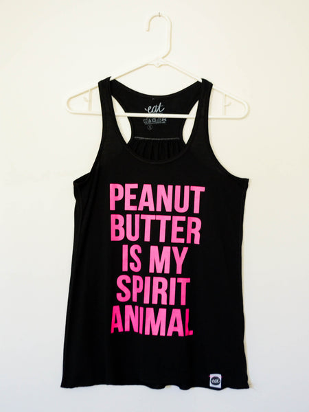 Pink Peanut Butter is my Spirit Animal Tank - EAT Healthy Designs  - 2