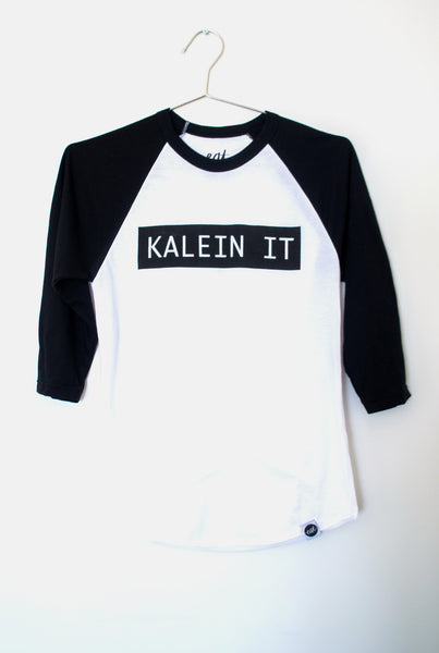 Kalein It Baseball Tee - EAT Healthy Designs  - 2