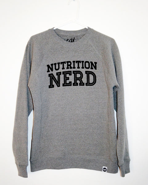 Nutrition Nerd Sweatshirt - EAT Healthy Designs  - 2