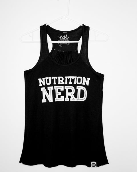 Nutrition Nerd Tank Top - EAT Healthy Designs  - 2