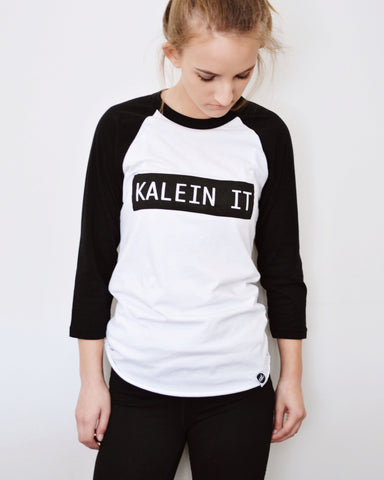 Kalein It Baseball Tee - EAT Healthy Designs  - 1