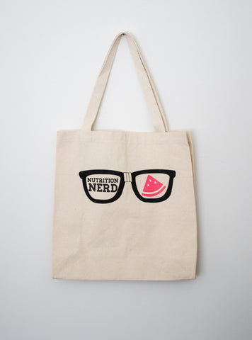 Nutrition Nerd Tote Bag - EAT Healthy Designs
