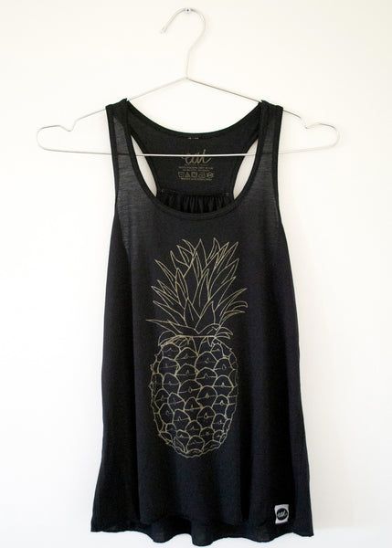 Pineapple Tank Top - EAT Healthy Designs  - 2