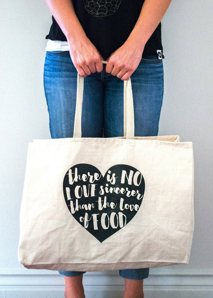 Food Love Tote Bag - EAT Healthy Designs  - 2
