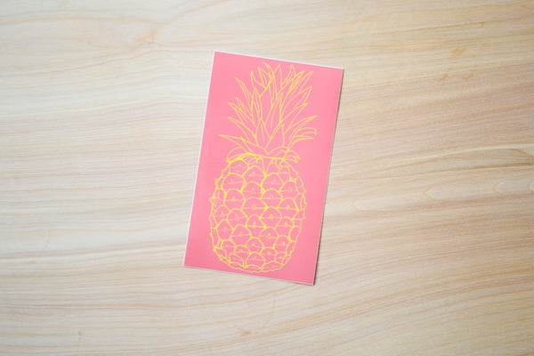 Pineapple Sticker - EAT Healthy Designs