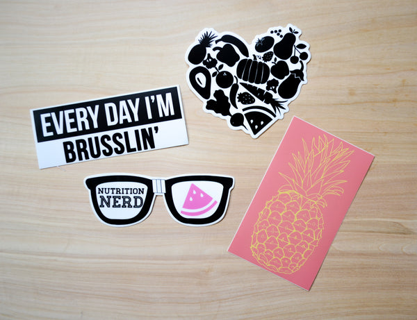 Sticker Pack - EAT Healthy Designs