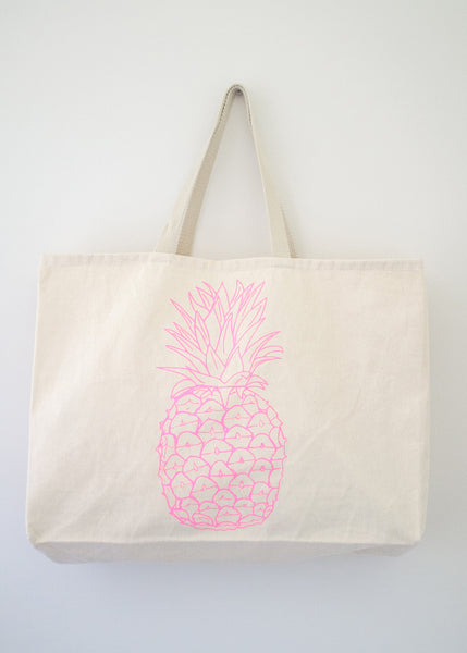 Pineapple Tote Bag - EAT Healthy Designs  - 1