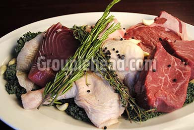 Stock Photography GH01-006 Meat & Fish