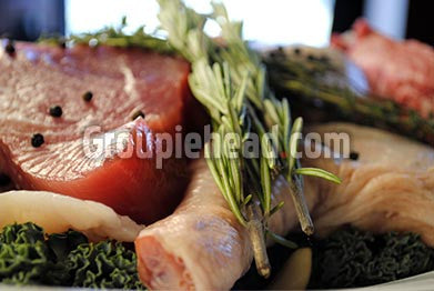 Stock Photography GH01-008 Meat & Fish