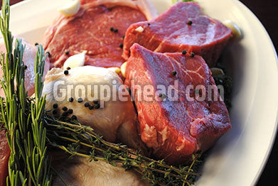 Stock Photography GH01-010 Meat & Fish